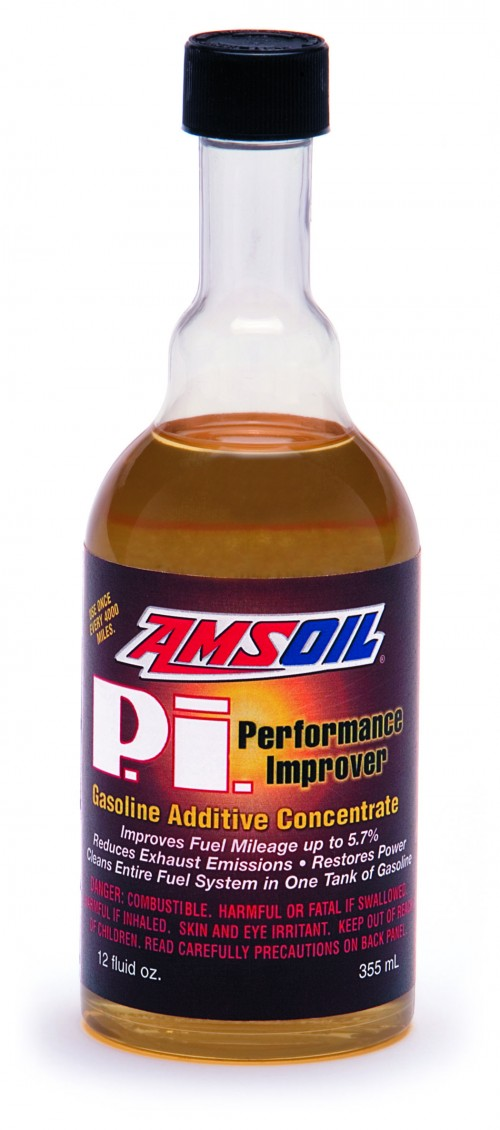 Amsoil's Performance Improver for gasoline engines - adds back lost mileage