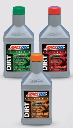 Amsoil new dirt bike oils available in Sioux Falls