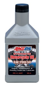 MCV 20W-50 Motorcycle Oil - Amsoil