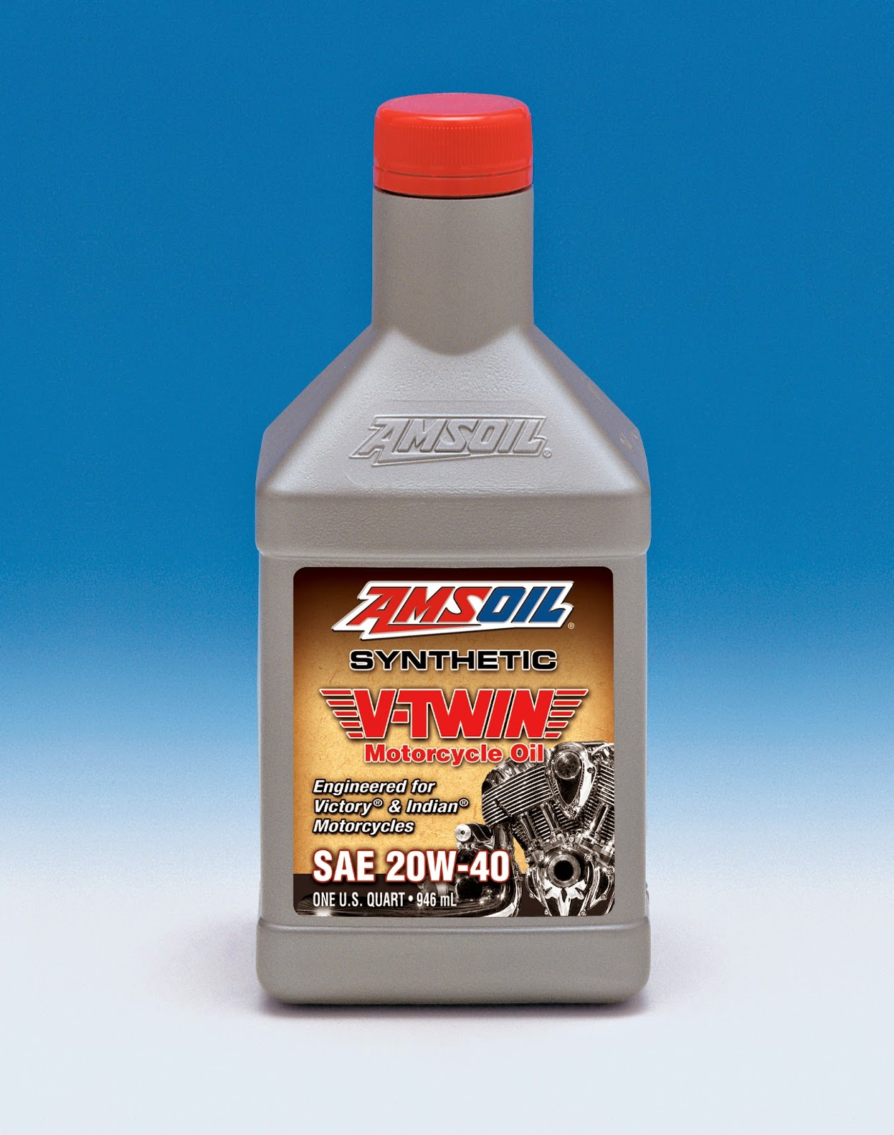 A premium oil designed for those who demand the absolute best lubrication for their motorcycles. AMSOIL 20W-40