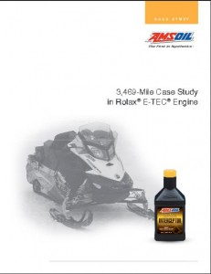 Amsoil Rotax Engine Wear Study