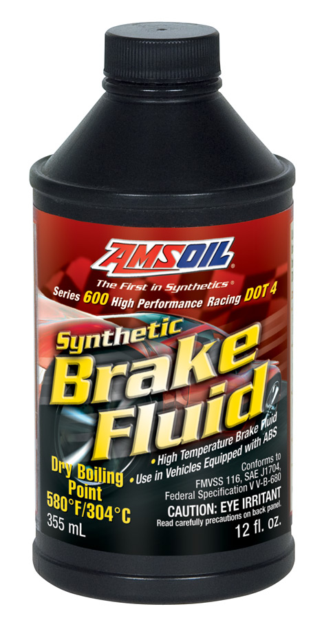 AMSOIL dot-4 Brake Fluid for Racing