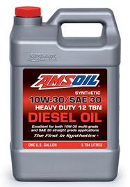 10W-30/SAE 30 Synthetic Heavy-Duty Diesel Oil