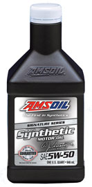 Signature Series 5W-50 Synthetic Motor Oil