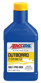 Outboard 100:1 Pre-Mix Synthetic 2-Stroke Oil