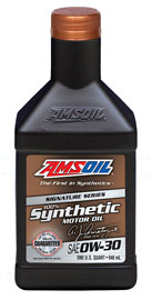 Signature Series 0W-30 Synthetic Motor Oil