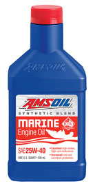 25W-40 Synthetic Blend Marine Engine Oil