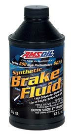 Series 500 High-Performance DOT 3 Brake Fluid
