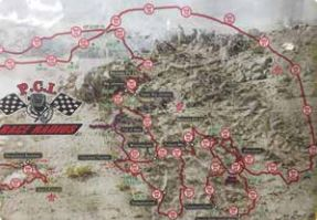 King of Hammers map