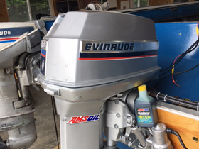 Amsoil performance in Evinrude 2-cycle