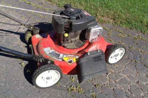 lawn mower needs AMSOIL or maintenance if not kept up