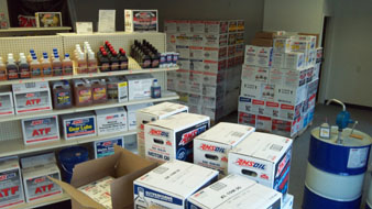 AMSOIL Over stocked in Sioux Falls