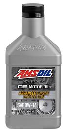Amsoil OE 0W-16 Synthetic Motor Oil