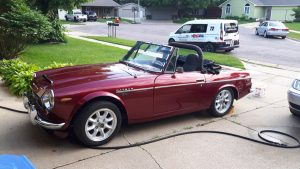 Only about 2000 made in 1969 - Datsun Fairlady in Sioux Falls, sd