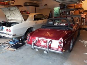 Datsun 2000 and Corvair