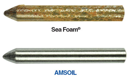 AMSOIL Gasoline Stabilizer provides corrosion protection Sea Foam can't